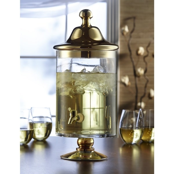 Bella Beverage Dispenser in Gold or Silver
