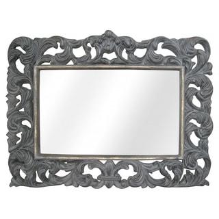 Legion Furniture Antique Grey Wall Mirror