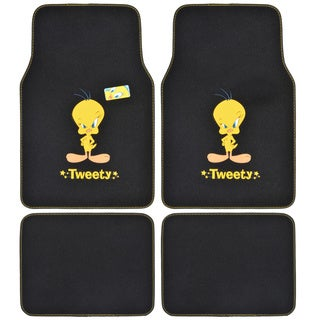 Warner Brothers Tweety Bird 4-piece Car Floor Mats