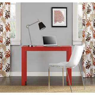Altra Delilah Red Parsons Single-drawer Desk