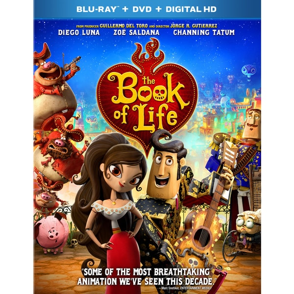 The Book Of Life (Blu-ray/DVD) 14359433