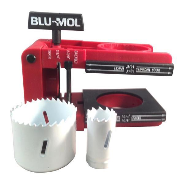 Disston Tool BLU MOL 5-piece Bi-Metal Professional Lock Kit