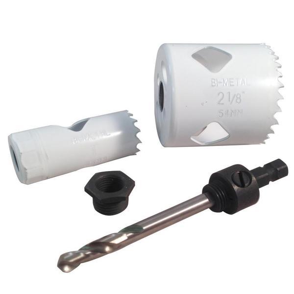 Disston Tool BLU MOL 4-piece Bi-Metal Lock Kit