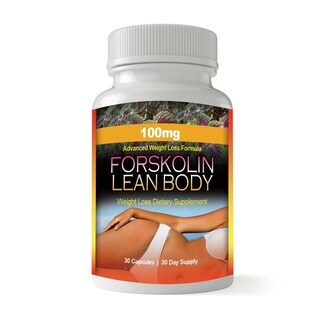 Forskolin Pure Coleus Forskohlii Root for Weight Loss (30 Capsules)