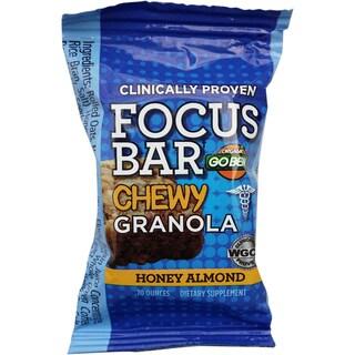 GoBean Green Coffee Bean Focus Granola Bar (Pack of 10)