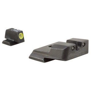 Trijicon HD Night Sights Smith and Wesson M and P Yellow Front Outline