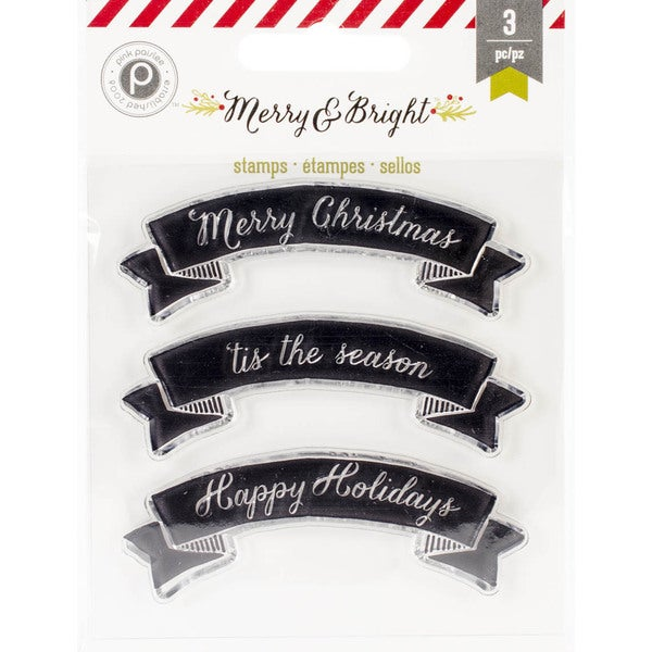 Merry & Bright Clear Stamps