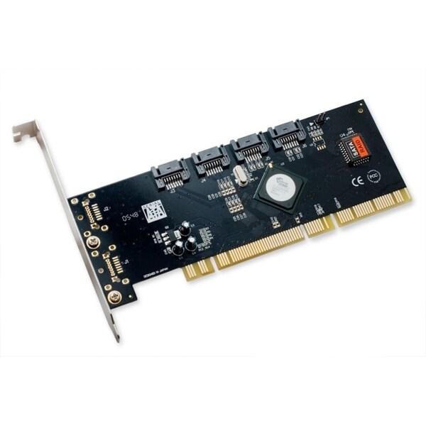 IOCrest PCI-X 32-Bit 66 MHz /64-Bit 133 MHz SATA2 RAID Controller Card 3.0Gbps