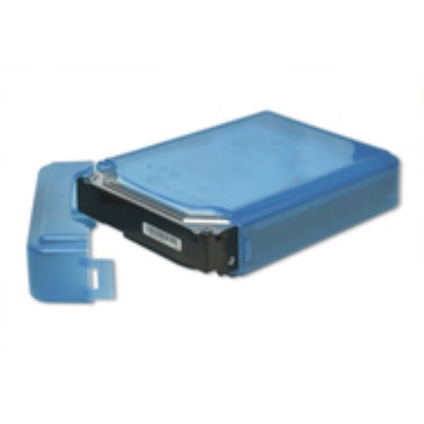 Syba Blue Plastic Storage Box for 3.5-inch HDD Fit 1 HDD Dust-proof Anti-Static