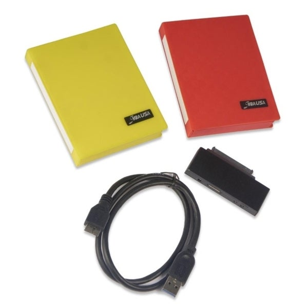 IOCrest Support SATA 1/2 HDD/SSD USB3.0 to 2.5-inch SATA HDD Encryption Kit