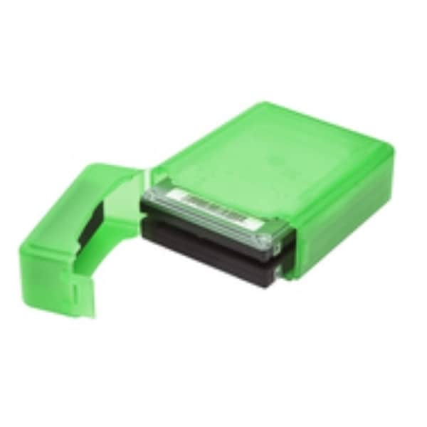 Syba Green Plastic Storage Box for 2.5-inch HDD Fit 1 HDD Dustproof Anti-Static