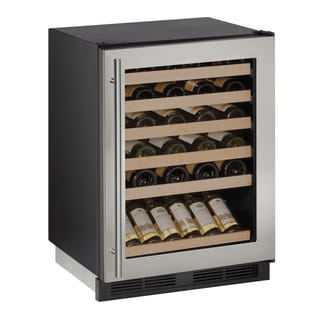 U-Line 1000 Series 1224WC 24 Inch Stainless Wine Captain