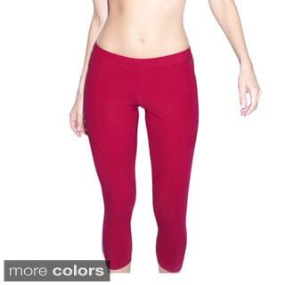 Red Daisy Women's 'Lily' Long Capri Tights
