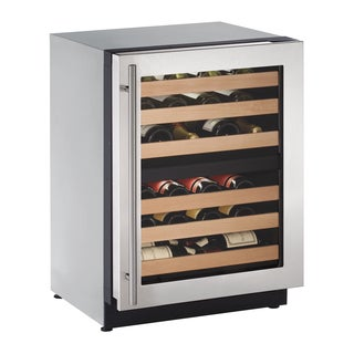 U-Line 2000 Series 2224ZWC 24 Inch Stainless Wine Captain