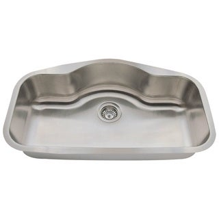 MR Direct 3219 Single Bowl Stainless Steel Kitchen Sink