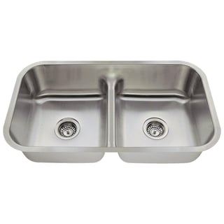 MR Direct 512 Half Divide Stainless Steel Kitchen Sink