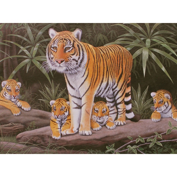 "Junior Large Paint By Number Kit 15.25""X11.25""-Maternal Watch"