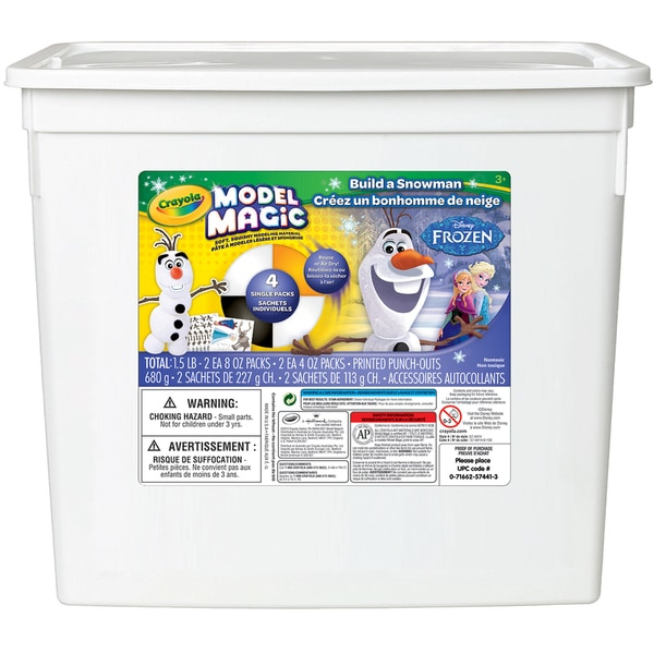 Crayola Model Magic Disney 1.5lb Tub-Frozen