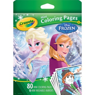 Crayola Mini Disney Coloring Book-Frozen