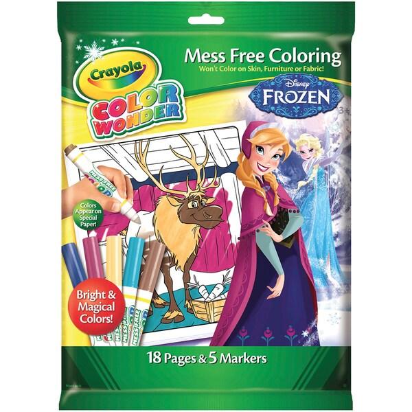 Crayola Color Wonder Disney Frozen