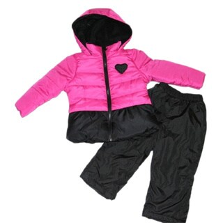 Mint Girl Infant Two-piece Snowsuit