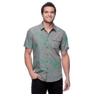 Parc Split Men's Short Sleeve Woven Shirt