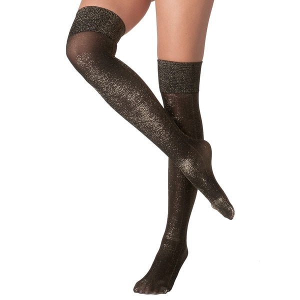 American Apparel Sparkle Over-the-Knee Socks