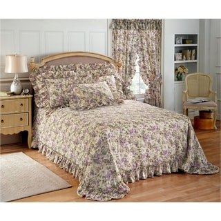 Plisse Bedspread and Sham Separates