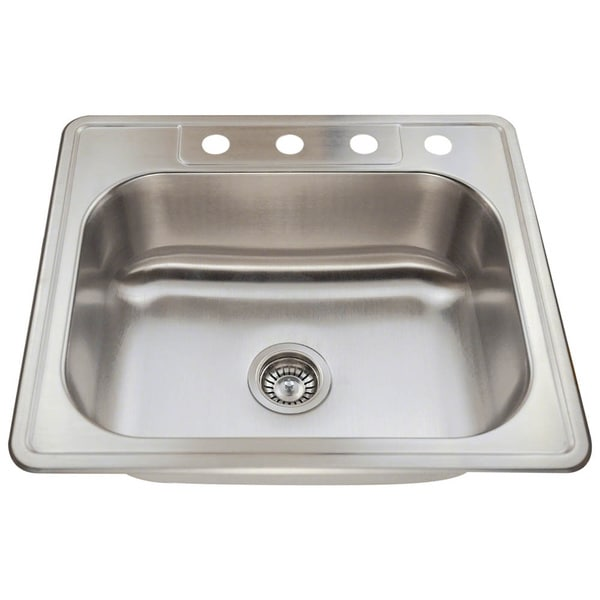 MR Direct T2318 Topmount Stainless Steel Sink
