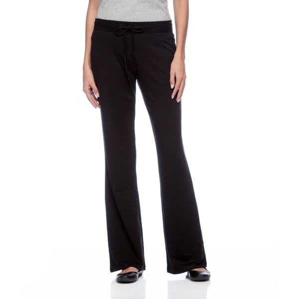 Cable & Gauge Women's Black Drawstring-waist Pants