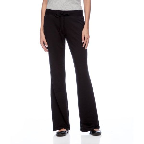 Cable & Gauge Women's Black Drawstring-waist Pants