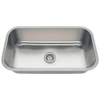 MR Direct 3218C Single Bowl Stainless Steel Sink