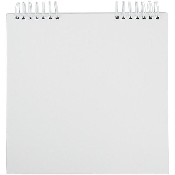 """Blank Calendar 12""""X12""""-White"""