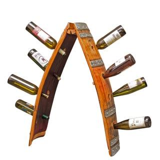 Solid Wood Barrel Riddling Wine Rack