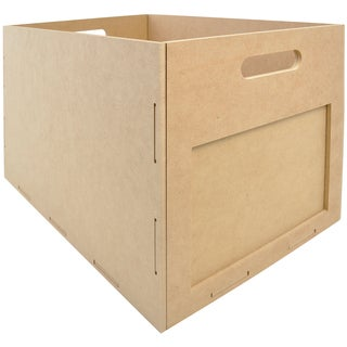 """Beyond The Page MDF Large Utility Box-11""""X17.75""""X11.5"""""""