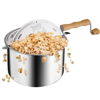 Great Northern Popcorn Original Spinner Stove Top 6.5-quart Popcorn Popper