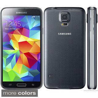 Samsung Galaxy S5 16GB SM-G900A Black Unlocked GSM Android Smartphone