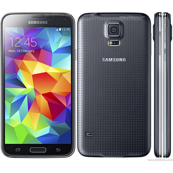 Samsung Galaxy S5 16GB SM-G900A Black Android v4.4.2 KitKat Unlocked GSM Smartphone