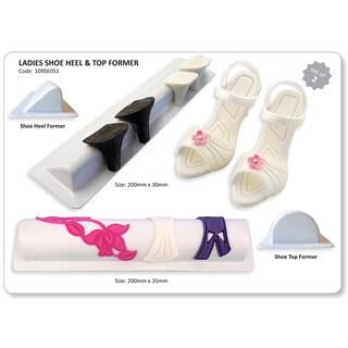 Plastic Cutter Set 2pc-Ladies Shoe, Heel & Top Former