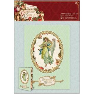 Papermania Victorian Christmas A5 Decoupage Card Kit