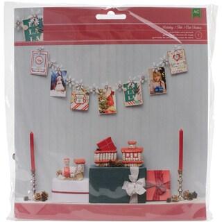Christmas Card Display Garland Kit-Snowflake