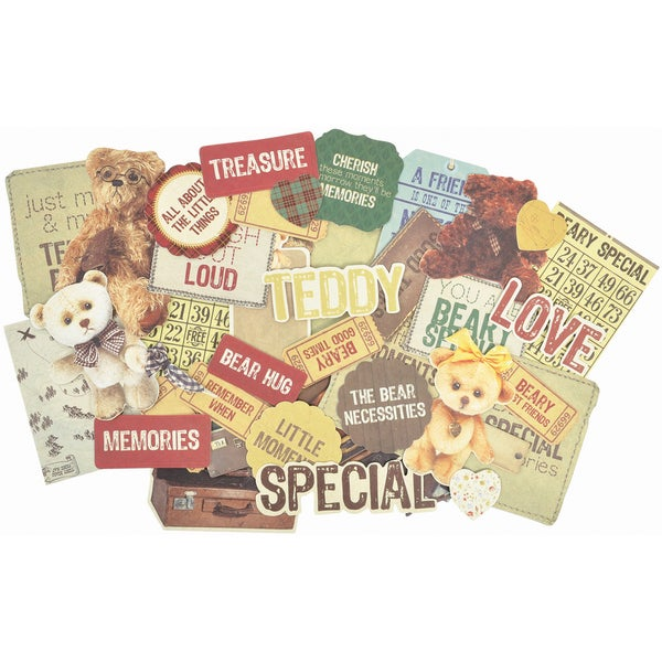 Teddy Bears Picnic Collectables Cardstock DieCuts