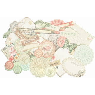 Rustic Harmony Collectables Cardstock DieCuts