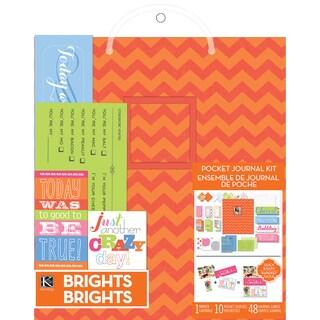 "Pocket Journal & Scrapbook Kit 8.5""X11""-Orange"