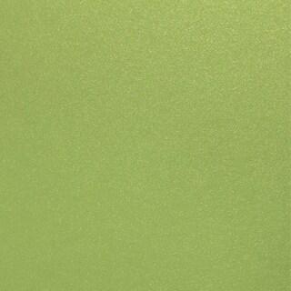 "Shimmering Cardstock 6""X6"" 20/Pkg-Green Envy"