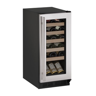 U-Line 1000 Series 1215WC 15 Inch Stainless Steel Wine Captain