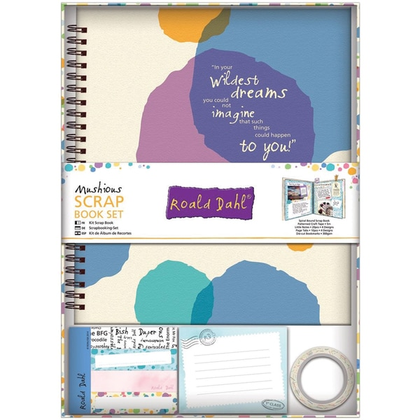 Roald Dahl Scrapbook Set-Mushious