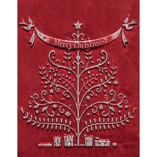 Spellbinders M-Bossabilities 3D Embossing Folder-Merry Christmas