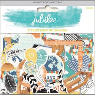 Jubilee Tangerine Mixed Bag Cardstock Die-Cuts-Awesome