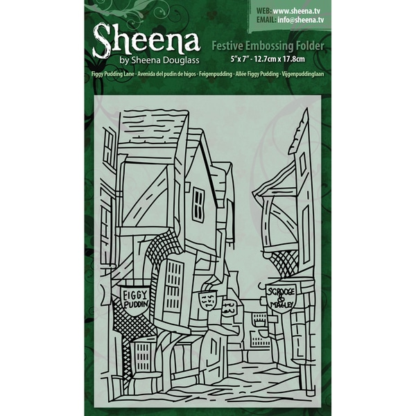 "Embossing Folders 5""X7"" By Sheena Douglass-Figgy Pudding Lane"
